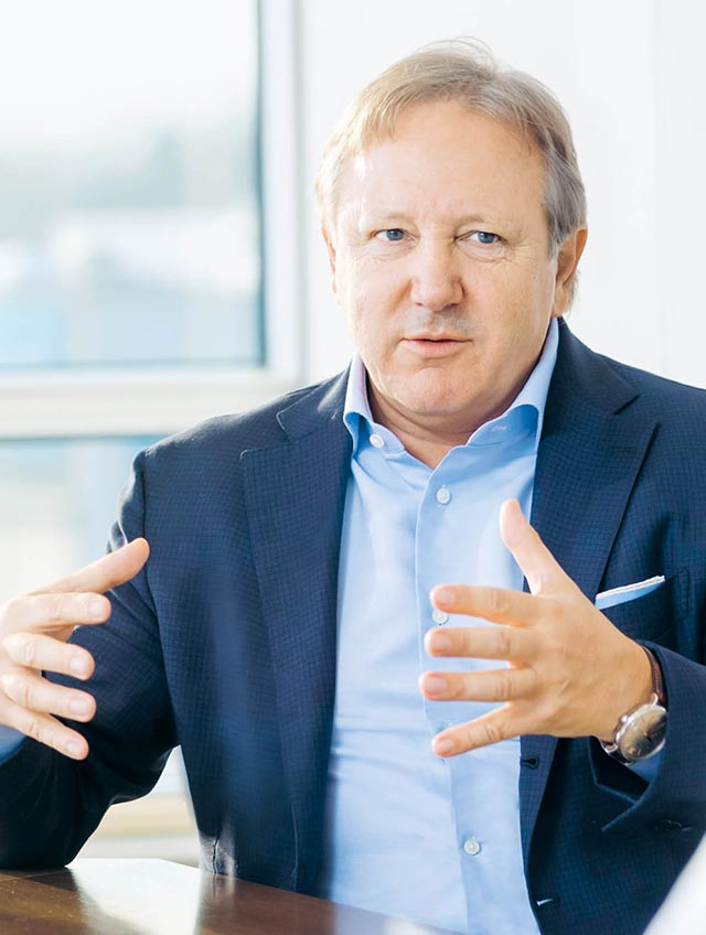 Hans Ulrich Meister, Chairman of the Board of Directors